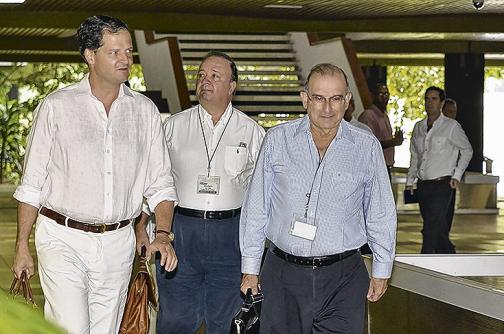 Luis Carlos Villegas, el eslabón entre militares y empresarios