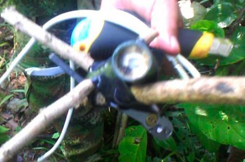 Ejército destruyó tres minas antipersona en Buenaventura