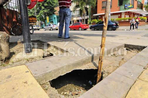 Obras en el barrio Granada aún no tienen fecha de finalización