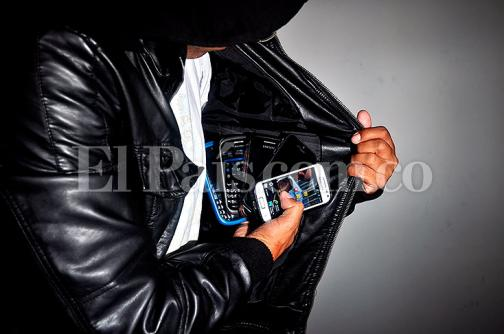 Más de 2300 celulares han sido robados en Cali este año
