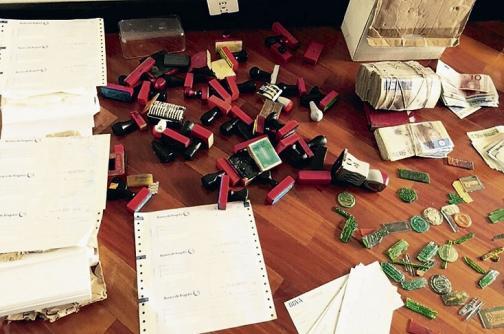 Así se desarticuló la mayor red de robo a bancos en el país