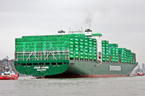 Uno de los más grandes barcos cargueros  del mundo arribó  al puerto de Buenaventura