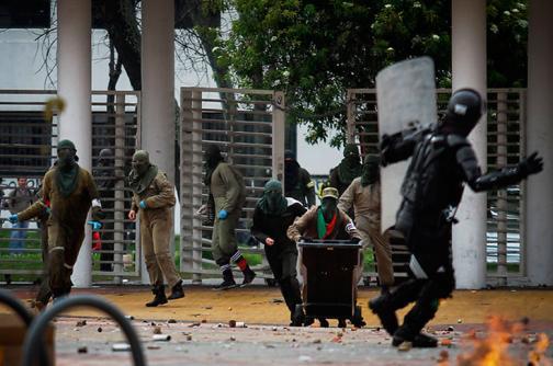 Policía incautó dos cajas de explosivos en la Universidad Nacional de Bogotá
