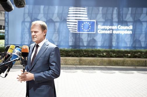 """Presidente de la UE predice """"final feliz"""" en negociación con Grecia"""