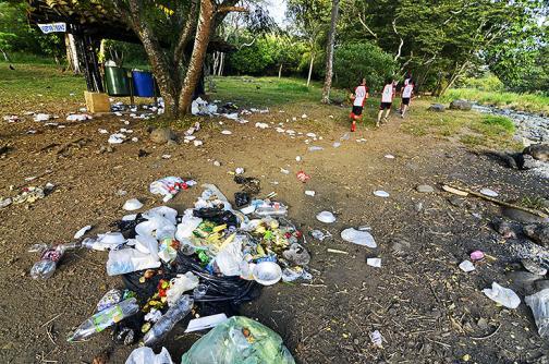 De la recreación a la contaminación: Pance después de los paseos del puente festivo