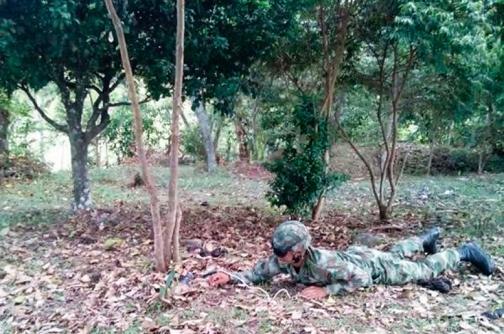 Ejército destruye campo minado en Nariño