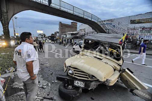 Camperos han protagonizado 78 accidentes de tránsito este año en Cali