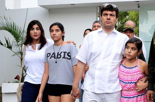 Diego Mora no descarta que familiares estén involucrados en secuestro de su hija