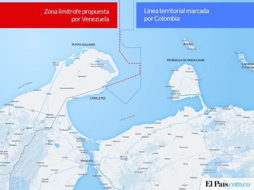 Venezuela anunció que modificará decreto sobre límites marítimos