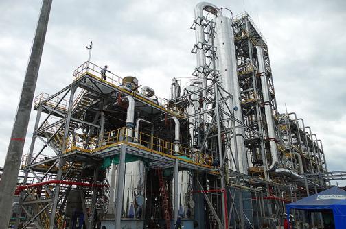 Riopaila Castilla alista la destilería de etanol