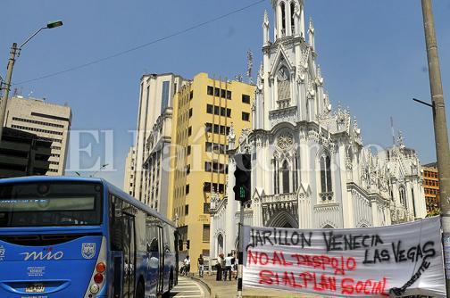 Habitantes del Jarillón desalojarán La Ermita tras protesta de 21 días