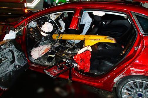 Vea las fotos del trágico accidente de tránsito en el túnel de la Avenida Colombia