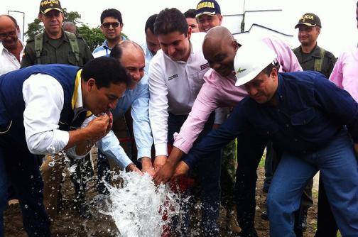 Se restableció el servicio de agua potable en Tumaco