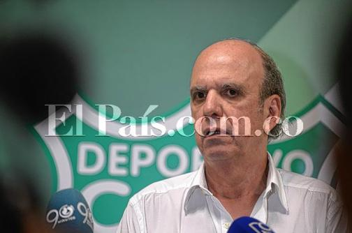 """Negocio por Santos Borré está muy cerca de cerrarse"": Presidente Deportivo Cali"