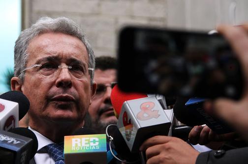 Corte definirá en tres meses situación jurídica de Álvaro Uribe