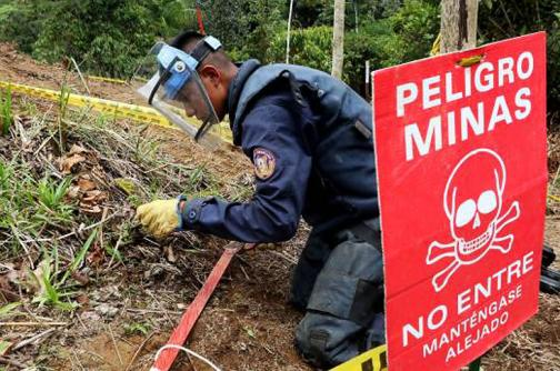 Hoy reinicia desminado humanitario en El Orejón, Antioquia