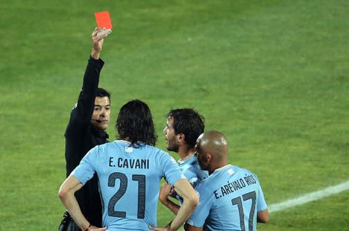 Los árbitros rebosaron la Copa América