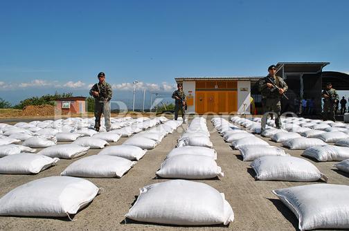 Más de dos toneladas de cocaína fueron incautadas en  Buenaventura