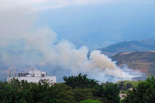 Tres hectáreas de vegetación quemadas en incendio en La Bandera