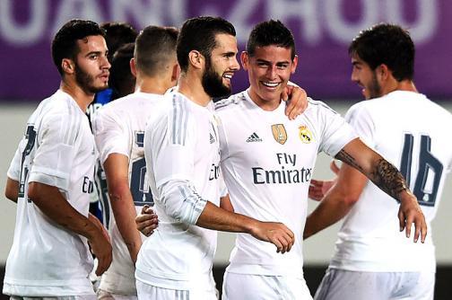 Video: Con golazo de James Rodríguez, Real Madrid venció al Inter