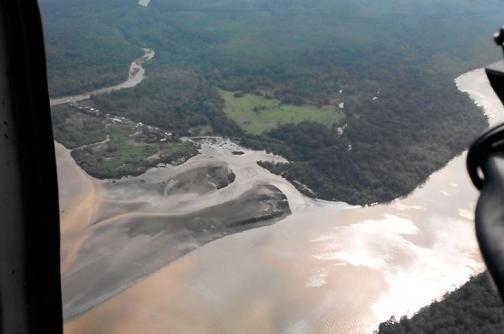 Nuevas imágenes del irreparable daño ambiental en Tumaco por atentado de las Farc