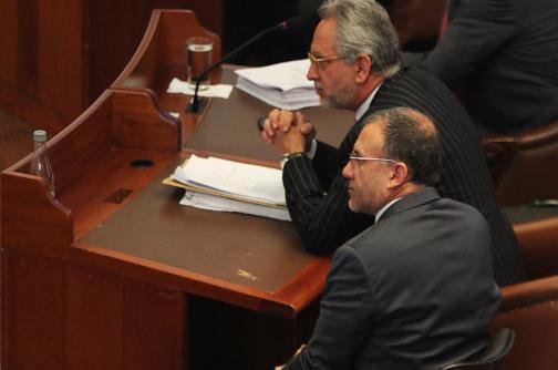 Procuraduría pide mantener investidura de Juan Fernando Cristo y Roy Barreras