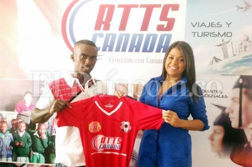 Talentos Fútbol Club estrenará uniformes gracias a donación de RTTS