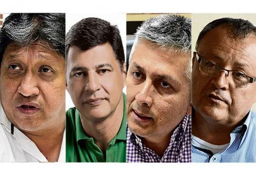 Así va la 'pelea' entre los cinco candidatos por la Alcaldía de Palmira