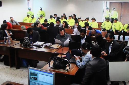 A la cárcel los trece detenidos por atentados terroristas en Bogotá