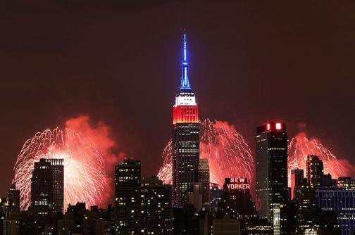 En fotos: con fuegos artificiales EE.UU. celebró el Día de la Independencia