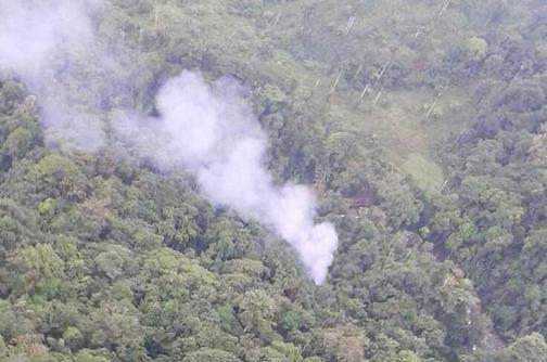 Policías heridos en accidente aéreo se recuperan en Apartadó y Bogotá