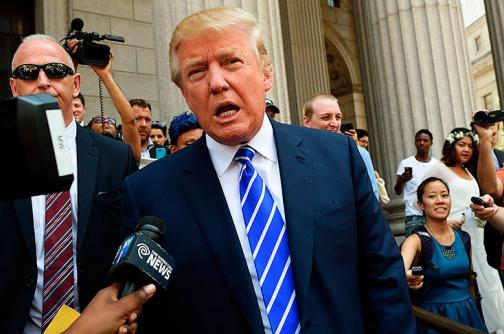 """""""Basta ya"""", dicen latinos a Trump y su discurso contra inmigrantes"""