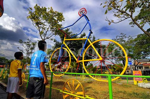 Este jueves inauguran monumento de la bicicleta en Cali