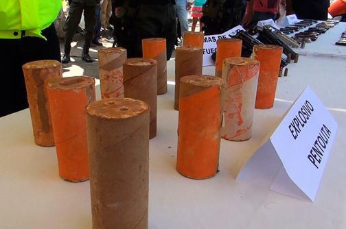 Incautan explosivos en una vivienda de Santander de Quilichao, en el Cauca