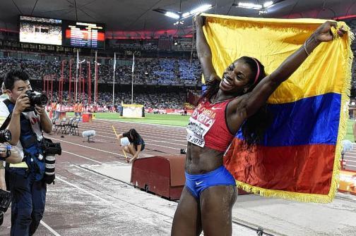 Caterine Ibargüen llegará a Río 2016 como la favorita al oro