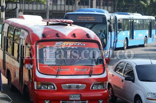 Así va el proceso de salida de los buses tradicionales de las calles de Cali