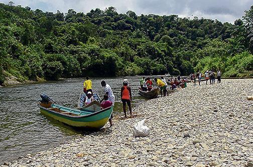Comunidad de Yurumanguí quiere volver a su río
