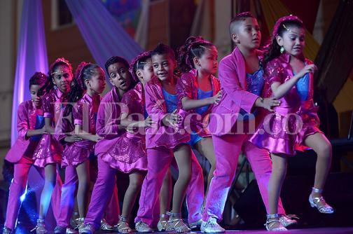 En imágenes el derroche de talento de los niños bailarines de salsa en Cali