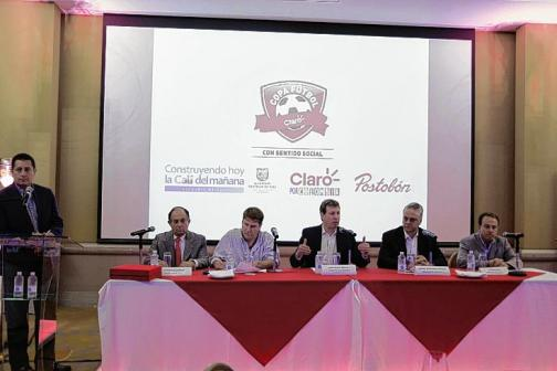 1360 deportistas llegan a Cali para jugar la final de la Copa Claro de Fútbol 2015