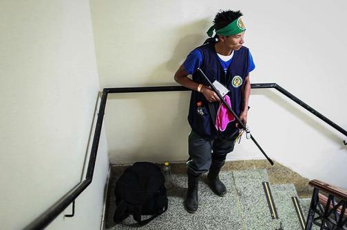 En fotos: indígenas exigen acuerdos con toma del Ministerio de Agricultura