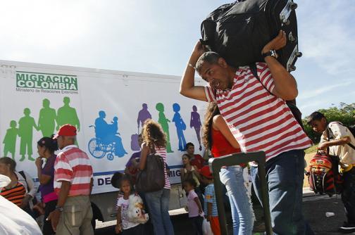 A Cali ya han llegado más de 80 deportados de Venezuela