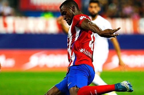 Jackson Martínez fue figura con el Atlético de Madrid en el derbi español