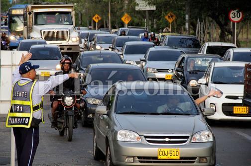 Así avanza el tráfico en el sur de Cali con el par vial y el regreso a clases