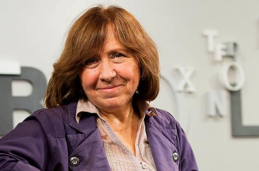 La periodista bielorrusa Svetlana Alexievich es la nueva pluma universal