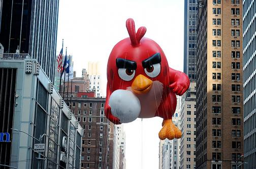 En fotos: globos, carrozas y bandas en desfile de Acción de Gracias en Nueva York