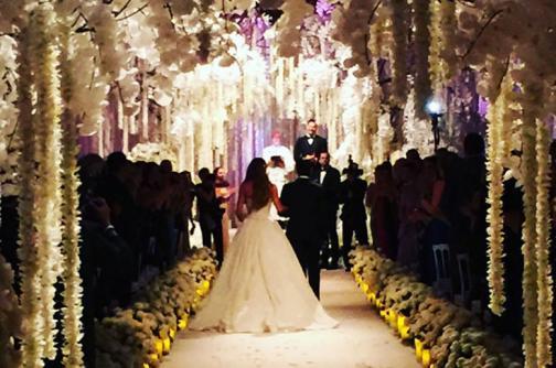 Estas son las primeras fotos del matrimonio de Sofía Vergara y Joe Manganiello