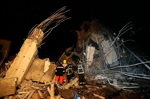 Imágenes: terremoto en Taiwán causa serios estragos en infraestructura