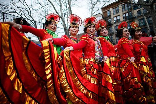 En fotos: así se vivió el año nuevo chino