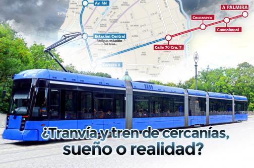 Infografía: Así sería la movilidad entre Cali y sus vecinos con tren y tranvía