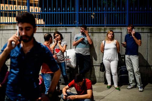 En fotos: una Turquía atemorizada y en alerta máxima tras atentado
